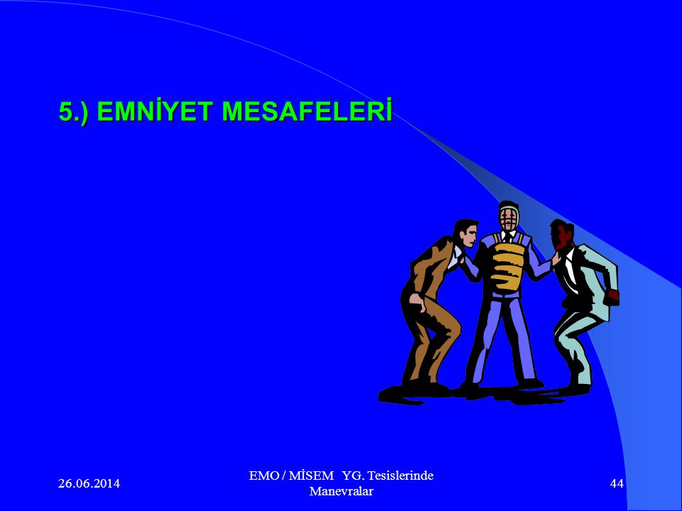 26.06.2014 EMO / MİSEM YG. Tesislerinde Manevralar 43 Metal Clad Hücre