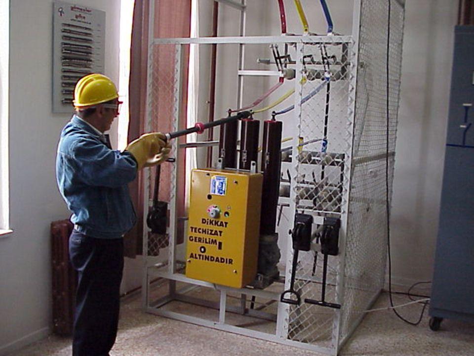 26.06.2014 EMO / MİSEM YG. Tesislerinde Manevralar 47 6.MANEVRALAR : Elektrik YG. Tesislerinde; tesisatın bir bölümünün, tamamının veya tesisin bir so