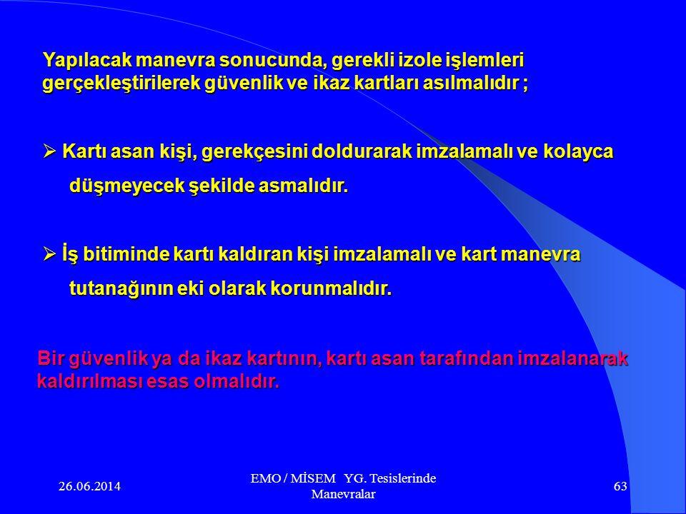 26.06.2014 EMO / MİSEM YG. Tesislerinde Manevralar 62