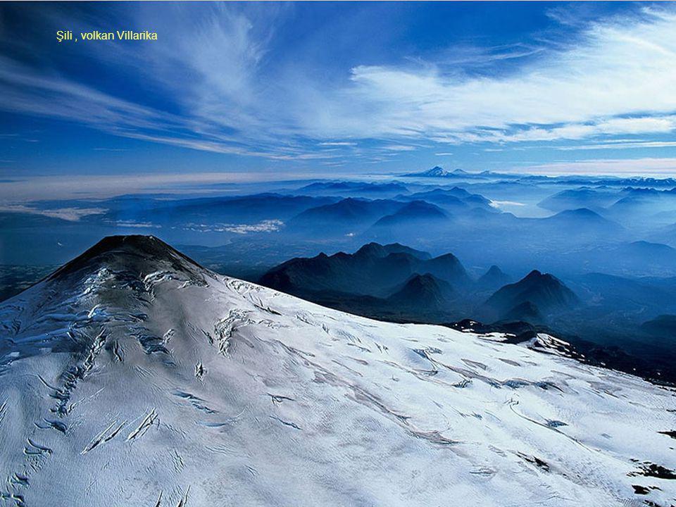 Şili, volkan Villarika