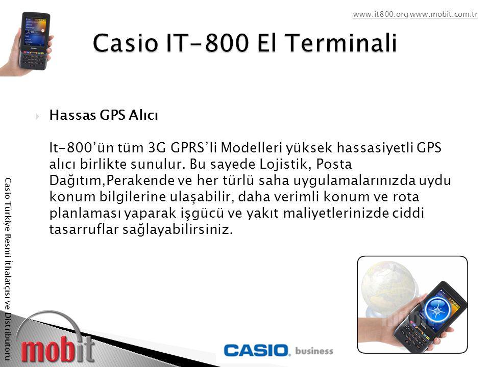 www.it800.orgwww.it800.org www.mobit.com.trwww.mobit.com.tr Casio Türkiye Resmi İthalatçısı ve Distribütörü  Temassız Smart Kard Okuyucu / Yazıcı  Temassız Smart Kart Okuyucu/Yazıcı teknolojisi, kısa mesafe kablosuz iletişimi ile manyetik kart ve el terminal arasında veri iletişimini sağlar.