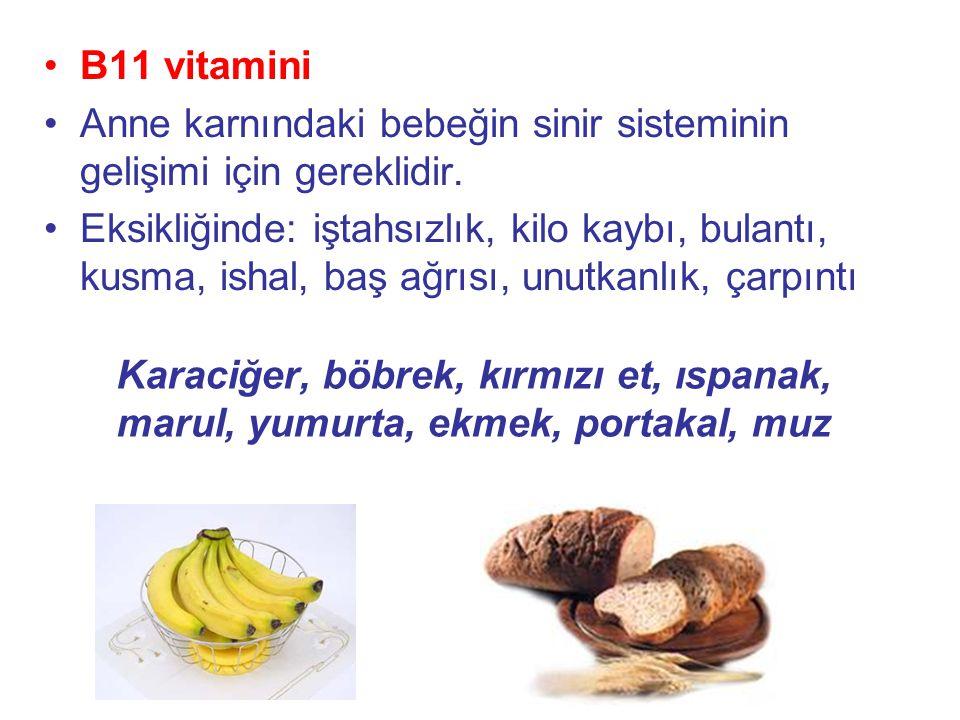 B12 vitamini: Besinlerle veya sigara gibi alışkanlıklarla vücuda giren siyanürü etkisiz hale getirir.