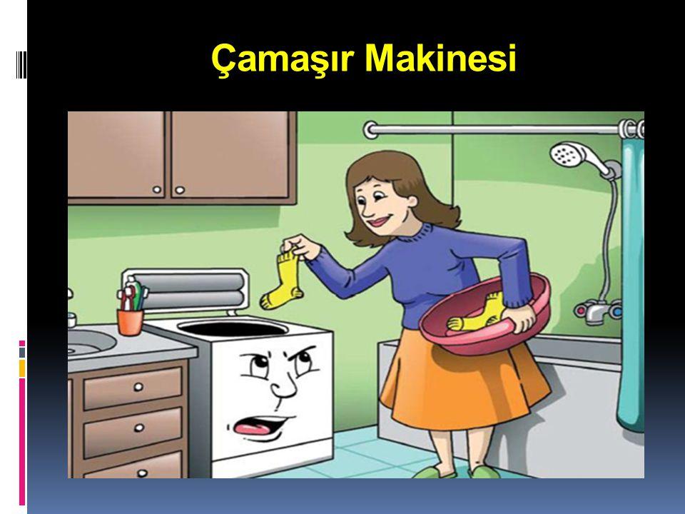  Çamaşır makinesini tam kapasiteyle çalıştırmalıyız.