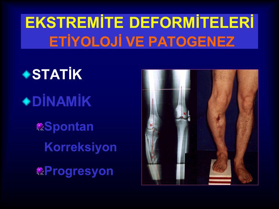 OSTEOTOMİ KURALI - III •Multiapikal deformiteler ile ilgili kural •Bir açısal düzeltmenin yeri ve miktarı, diğer düzeltmenin yerini ve miktarını belirler.
