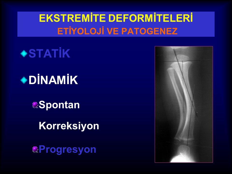 AKS (EKSEN) Ekstremitenin Mekanik Aksı Ortho RG'de femur başı merkezi ile ayak bileği merkezini birleştiren doğru Mekanik Aks Deviasyonu (MAD)