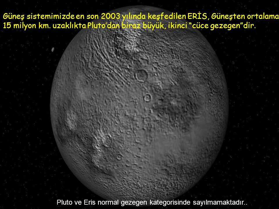 """3bin km. lik çapıyla Merkür'den daha küçük, donmuş""""cüce gezegen"""" Pluto"""