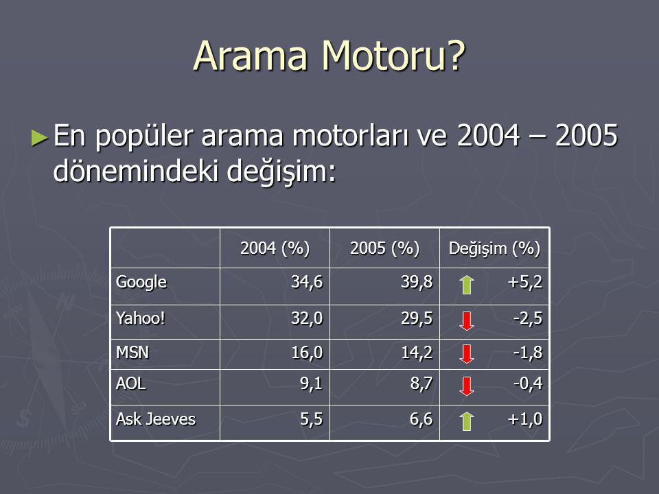 Arama Motoru.