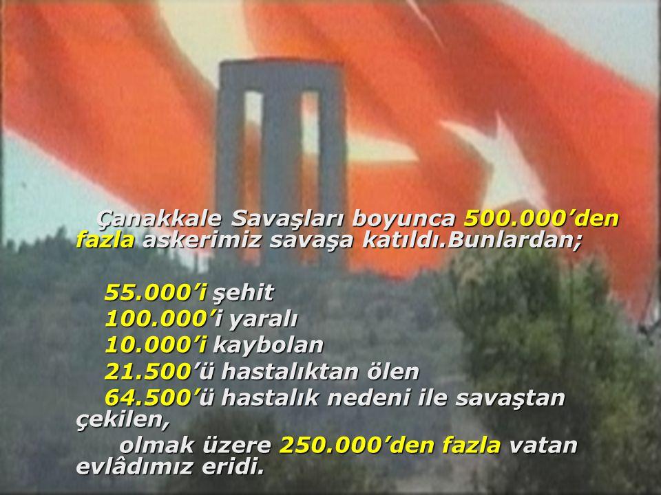 Savaş sonunda Anadolu'da yaşayan her 3 kadından biri dul kaldı.