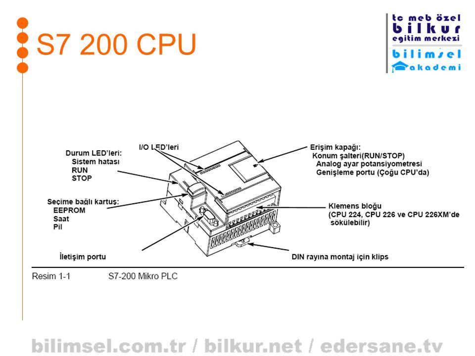S7 200 CPU