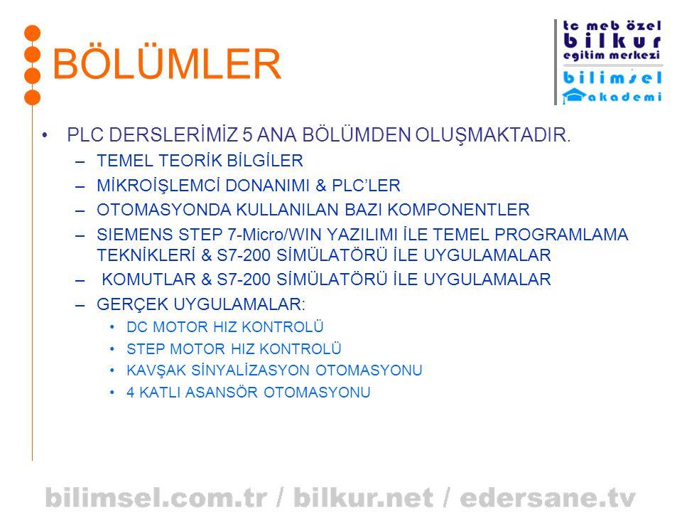 AND (VE) İŞLEMİ ABA AND B 000 010 100 111 0=ANAHTAR AÇIK 1=ANAHTAR KAPALI