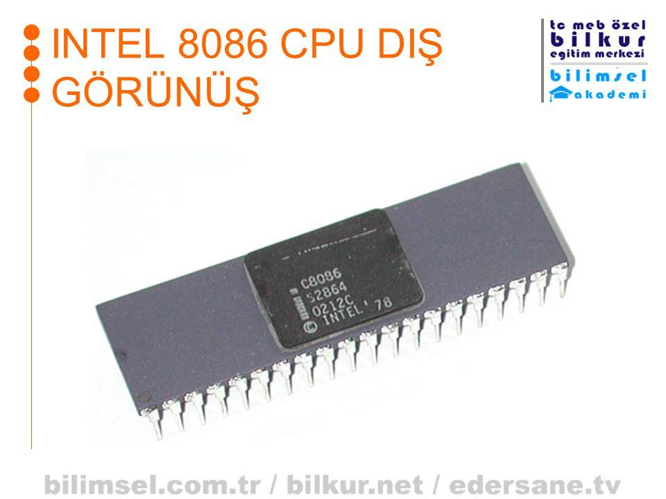 INTEL 8086 CPU DIŞ GÖRÜNÜŞ