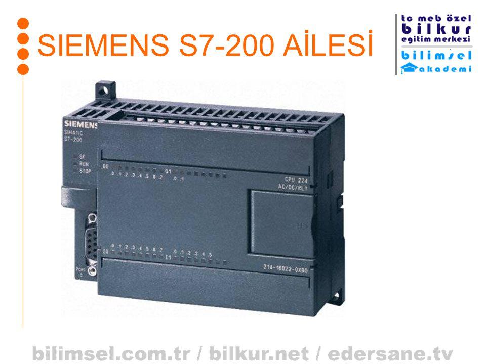 SIEMENS S7-200 AİLESİ