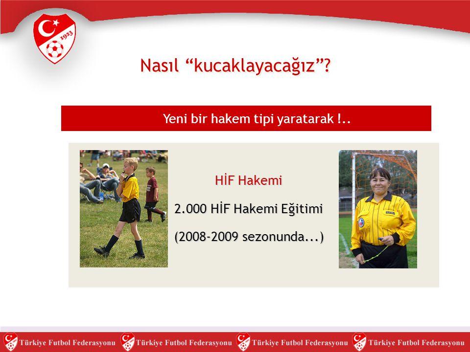 """Nasıl """"kucaklayacağız""""? Yeni bir hakem tipi yaratarak !.. HİF Hakemi 2.000 HİF Hakemi Eğitimi (2008-2009 sezonunda...)"""