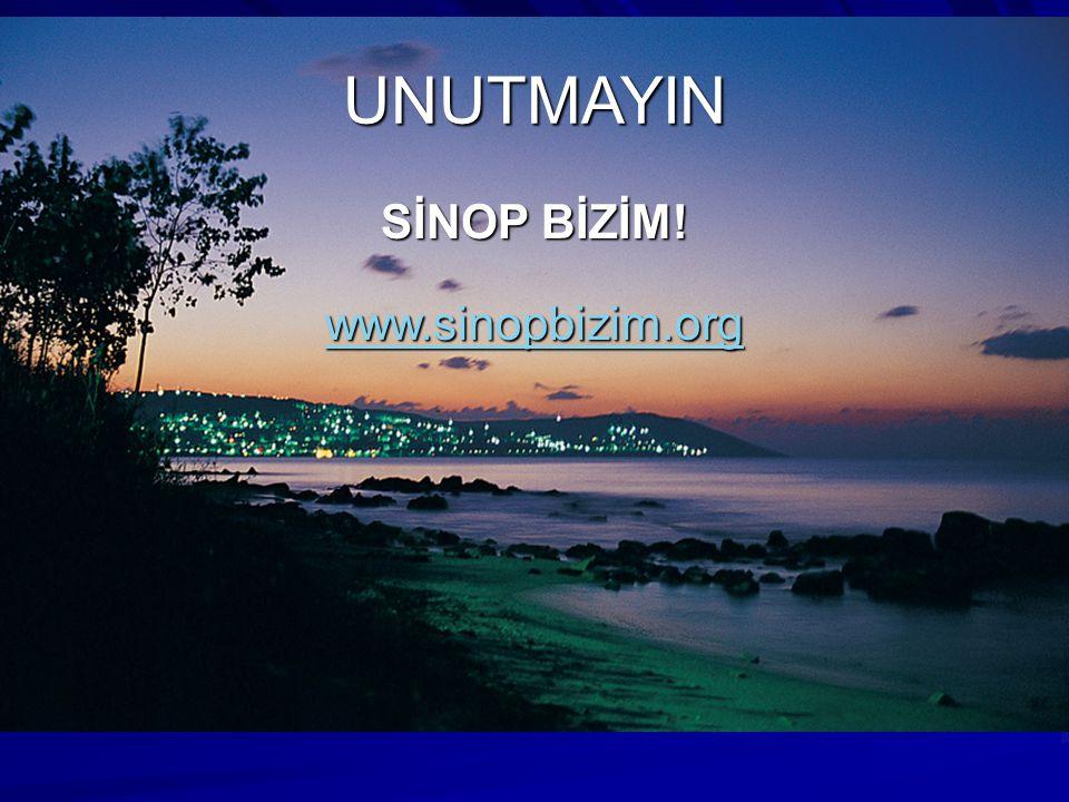 UNUTMAYIN SİNOP BİZİM! www.sinopbizim.org