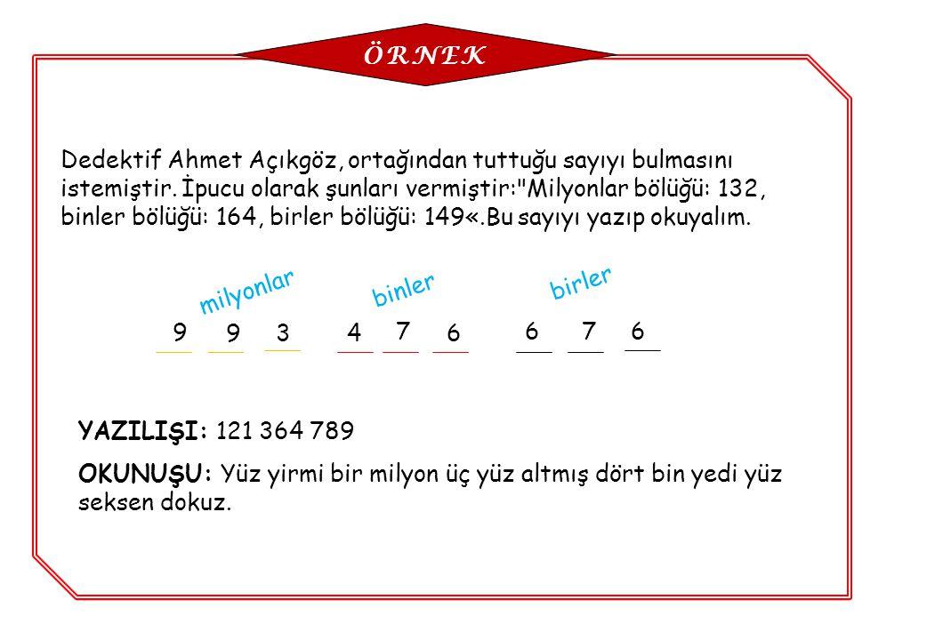 Dedektif Ahmet Açıkgöz, ortağından tuttuğu sayıyı bulmasını istemiştir. İpucu olarak şunları vermiştir: