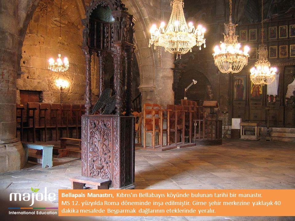 Bellapais Manastırı, Kıbrıs ın Bellabayıs köyünde bulunan tarihi bir manastır.