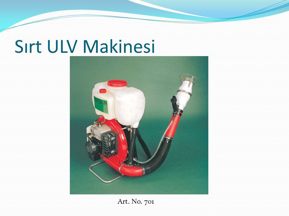 Sırt ULV Cihazı Döner başlık teknolojisine sahip, motorlu sırt ULV cihazıdır.
