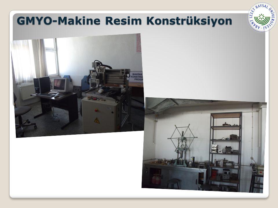 GMYO-Makine Resim Konstrüksiyon