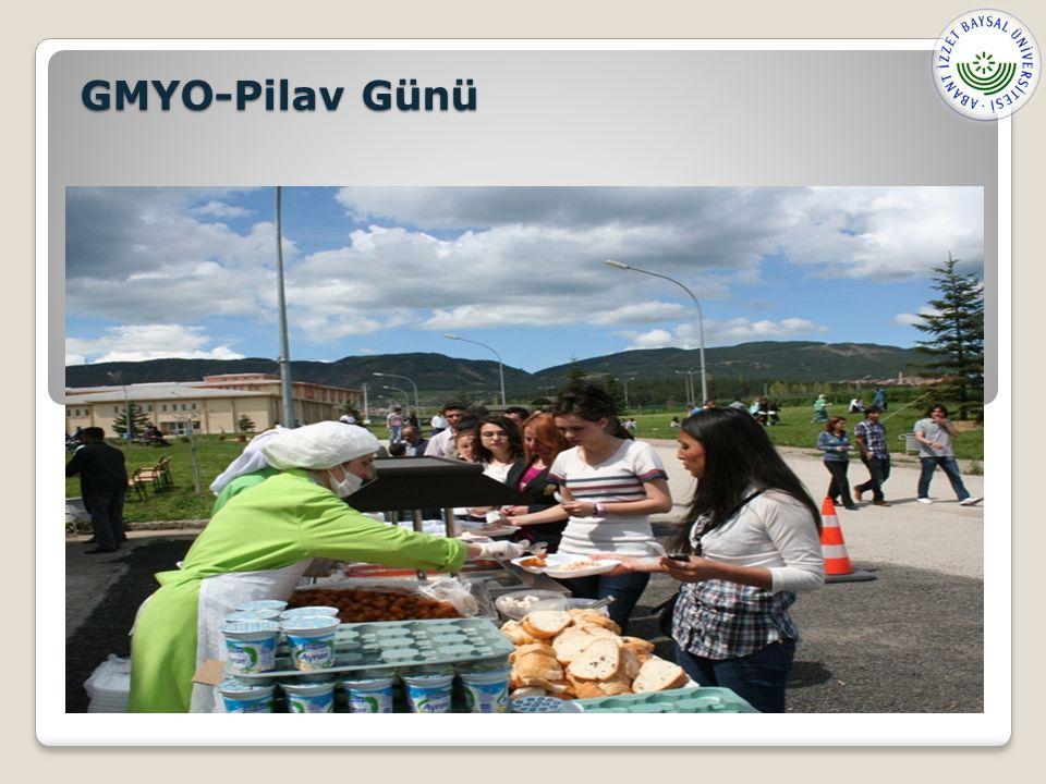 GMYO-Pilav Günü