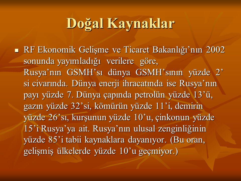 Türk Yatırımcıların Rusya'daki Müteahhitlik Hizmetleri  İnşaat sektöründe faaliyet gösteren Türk firmalarının Rusya pazarına girişi SSCB'nin son yıllarında Türkiye ile yapılan Doğalgaz Anlaşması'na dayanmaktadır.Bu anlaşma ile Türkiye'nin SSCB'den alacağı doğalgazın bedelinin %70'inin mal ve hizmet olarak ödenmesi öngörülmüş ve bu Türk firmalarının Rusya'daki inşaat sektörüne girmesinde itici güç olmuştur.