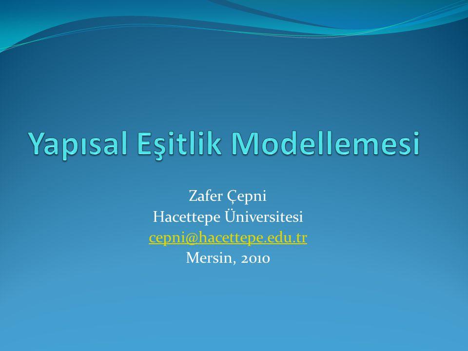 Zafer Çepni Hacettepe Üniversitesi cepni@hacettepe.edu.tr Mersin, 2010