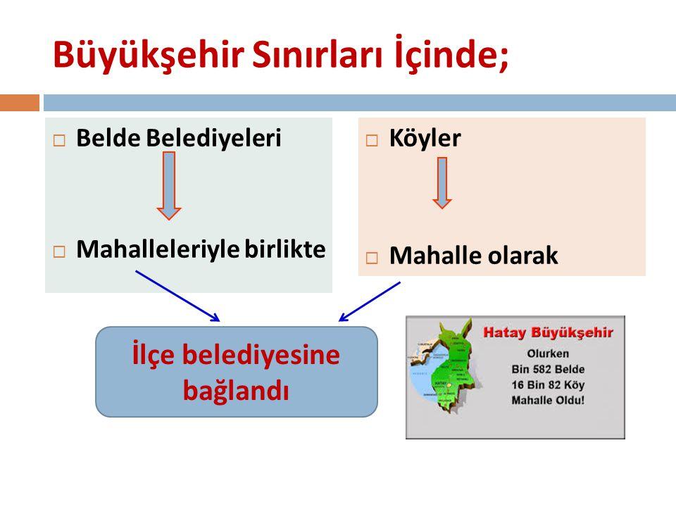 SORU; Büyükşehir belediyesine dönüşen il belediyeleri yeni personel alabilecek mi.