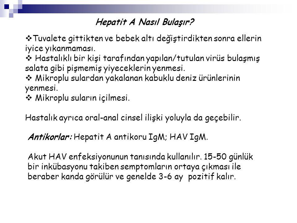 Hepatit C yi saptamak için çeşitli testler vardır.