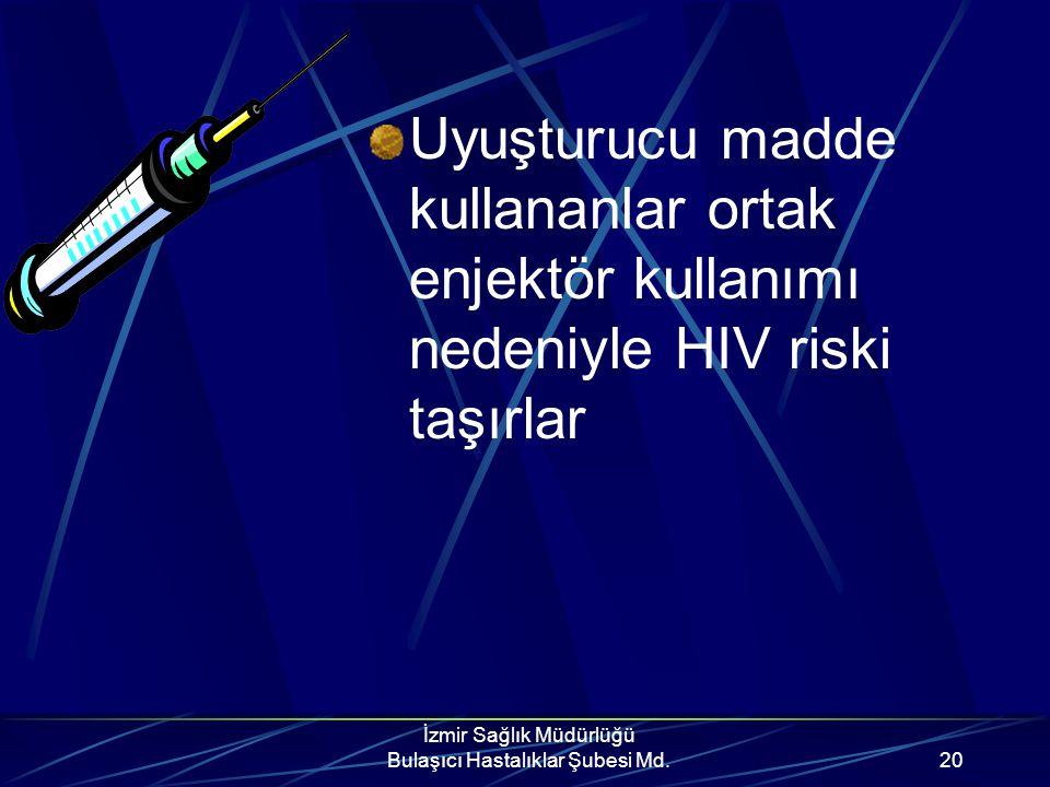 İzmir Sağlık Müdürlüğü Bulaşıcı Hastalıklar Şubesi Md.19 Anneden bebeğe Hamilelik sırasında placenta yoluyla Doğum sırasında vaginal sıvılarla Doğumda
