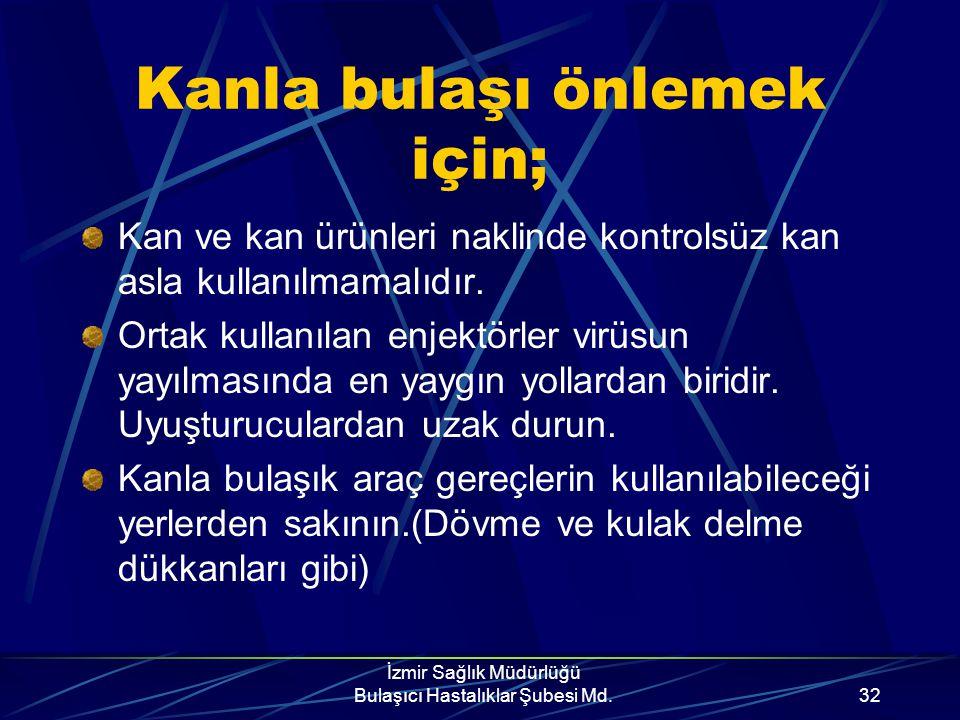İzmir Sağlık Müdürlüğü Bulaşıcı Hastalıklar Şubesi Md.31 KONDOM (II) Gevrekleşmiş, kıvamı bozulmuş ve kullanma süresi geçmiş kondomları kullanmayın. K