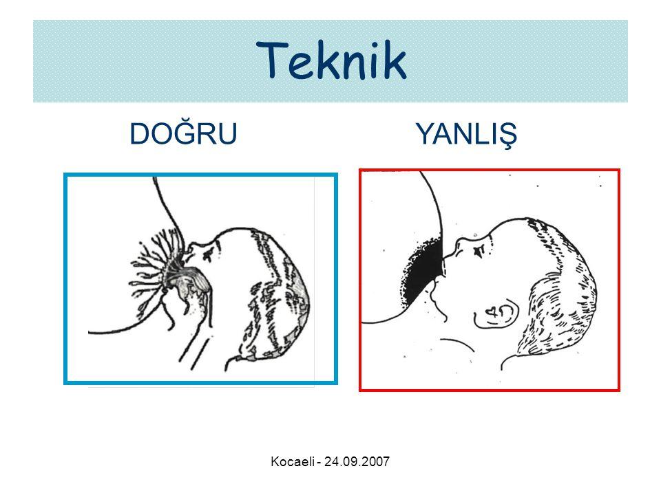Kocaeli - 24.09.2007 Teknik DOĞRUYANLIŞ