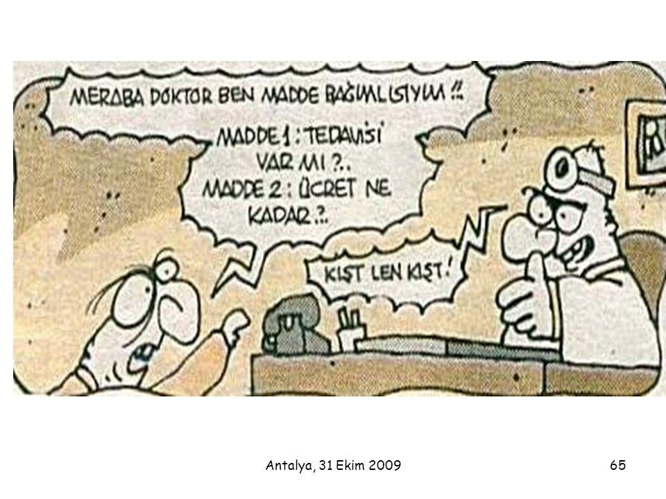 Antalya, 31 Ekim 200965