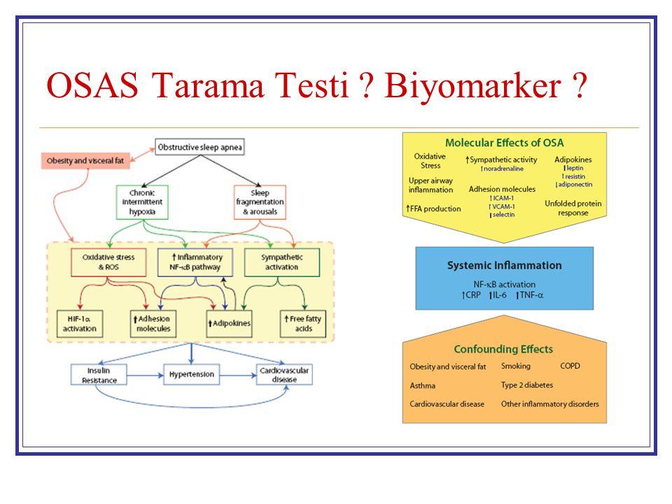 OSAS Tarama Testi ? Biyomarker ?