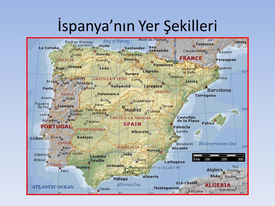 İspanya'nın Yer Şekilleri