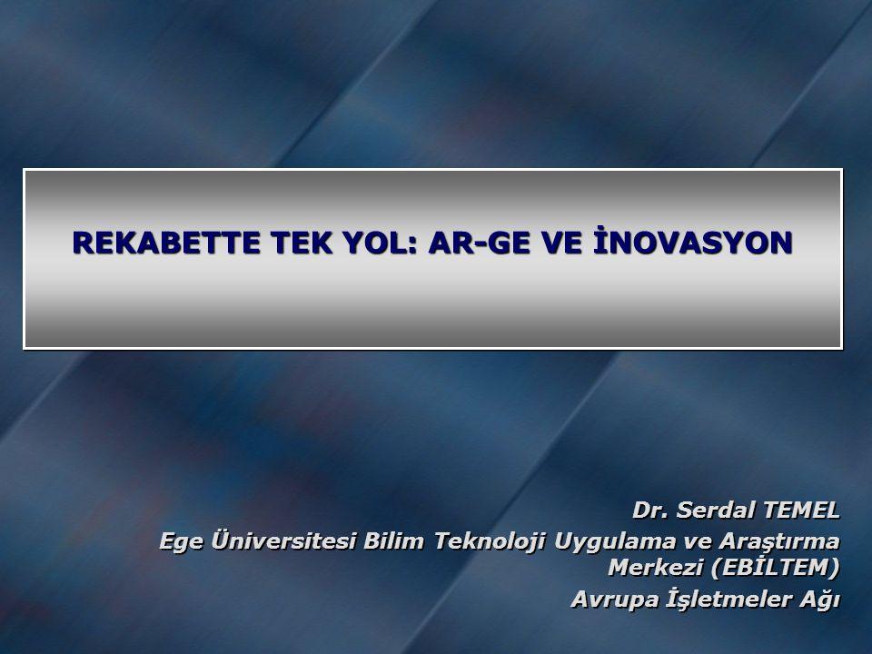 REKABETTE TEK YOL: AR-GE VE İNOVASYON Dr.