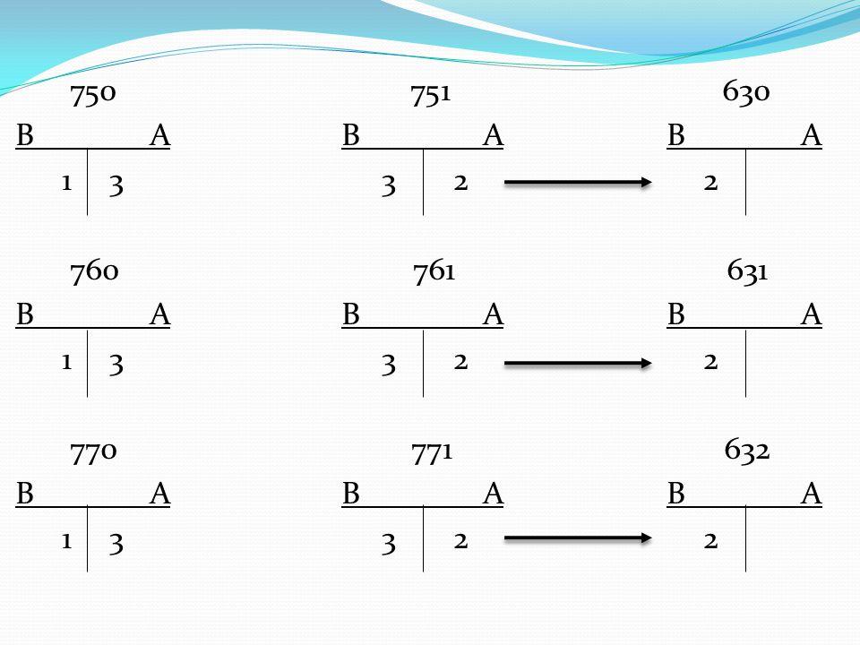 750 751 630 B A B A B A 1 3 3 2 2 760 761 631 B A B A B A 1 3 3 2 2 770 771 632 B A B A B A 1 3 3 2 2