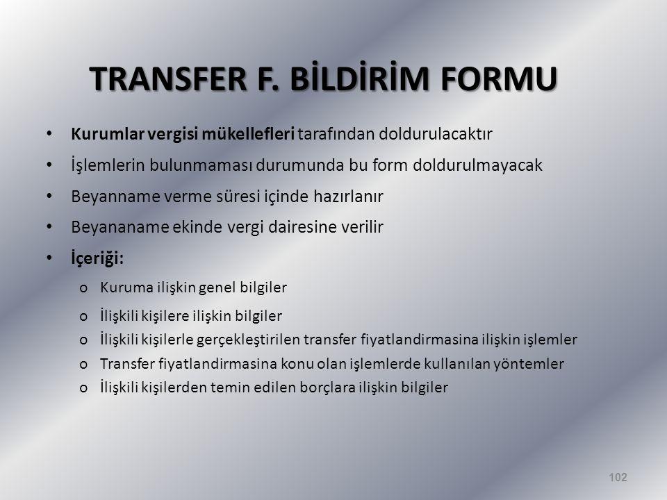 TRANSFER F.