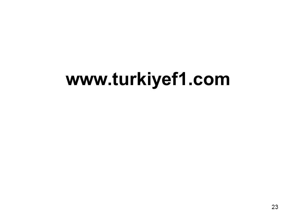 23 www.turkiyef1.com
