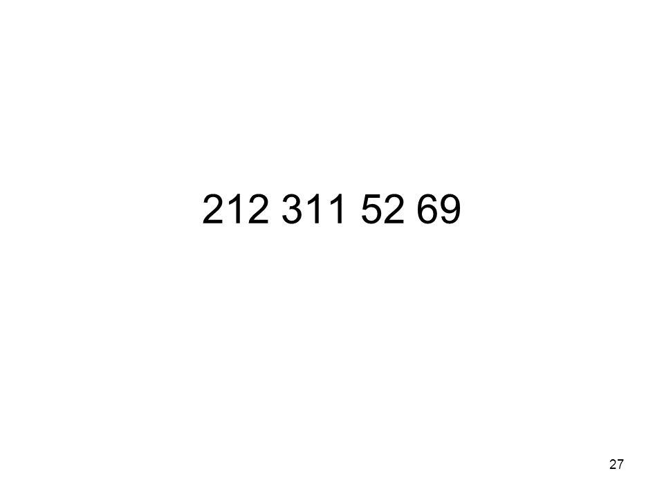 27 212 311 52 69