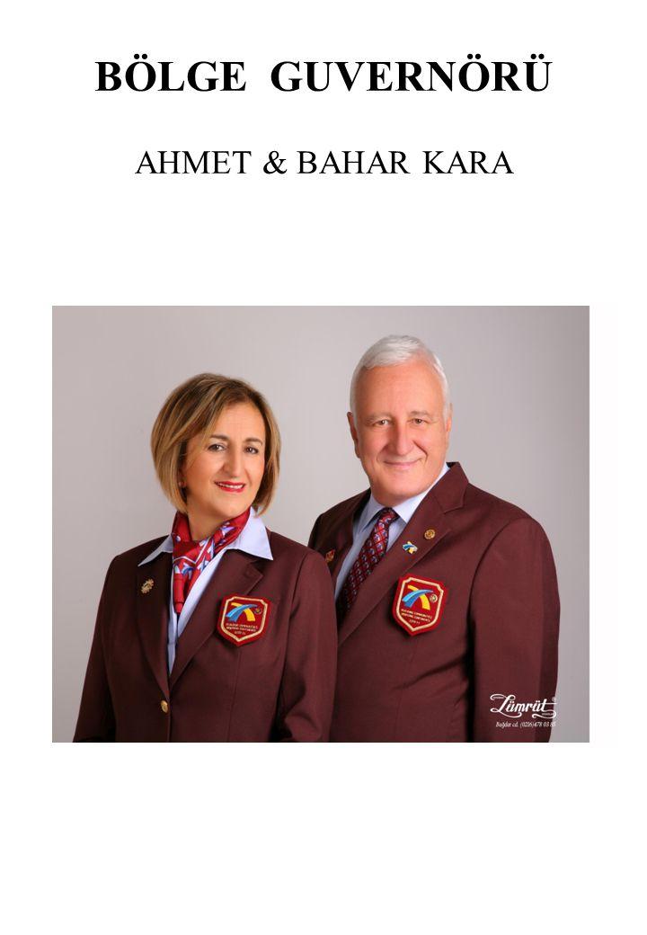 BÖLGE GUVERNÖRÜ AHMET & BAHAR KARA