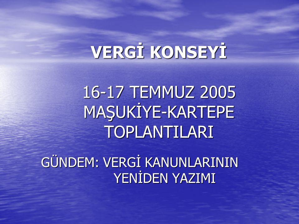 GELİRİN BEYANI Akif Akarca Süleyman Genç (GK) Ahmet Kavak İbrahim Kocabey Mustafa Koç TARTIŞMA İÇİNDİR