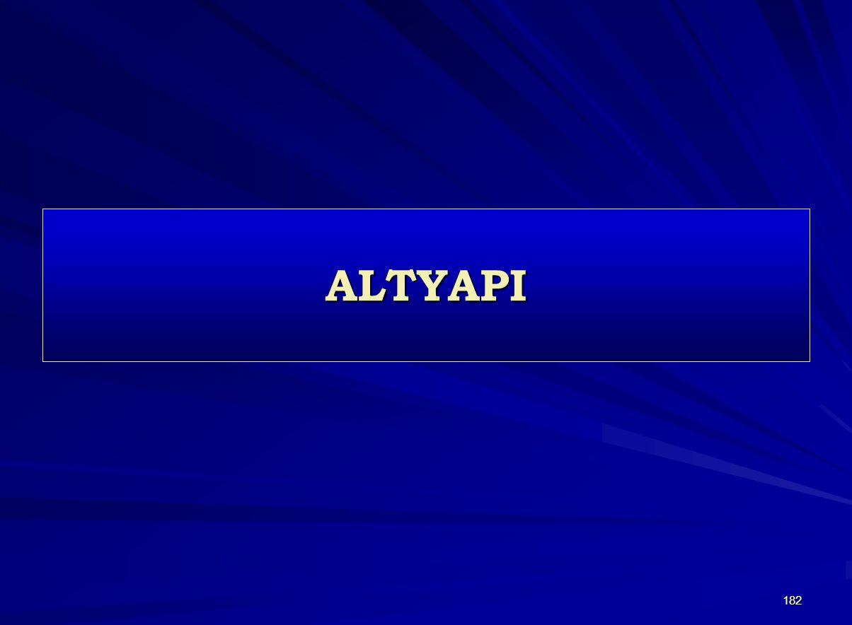182 ALTYAPI