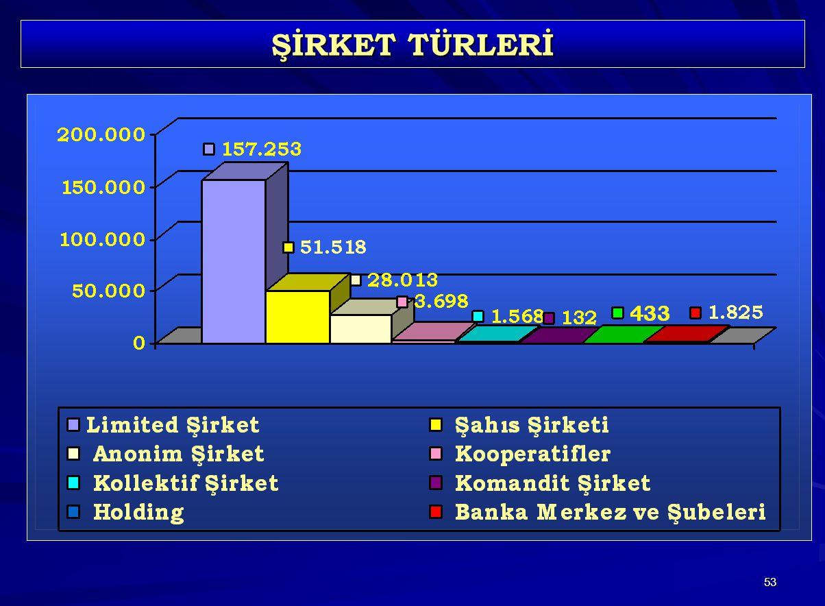 53 ŞİRKET TÜRLERİ