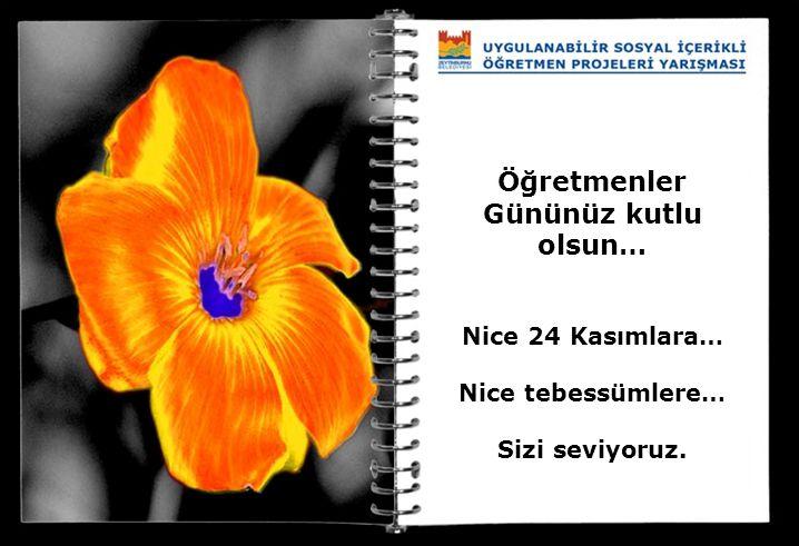 Öğretmenler Gününüz kutlu olsun… Nice 24 Kasımlara… Nice tebessümlere… Sizi seviyoruz.