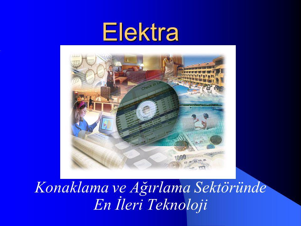 Elektra Konaklama ve Ağırlama Sektöründe En İleri Teknoloji