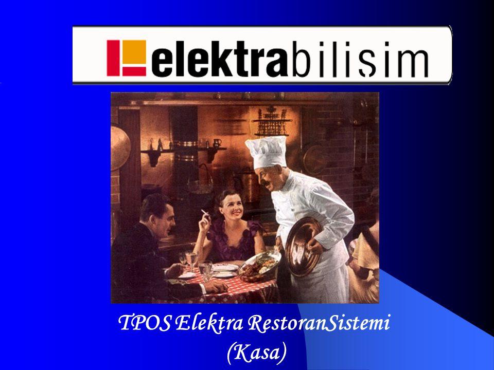 TPOS Elektra RestoranSistemi (Kasa)