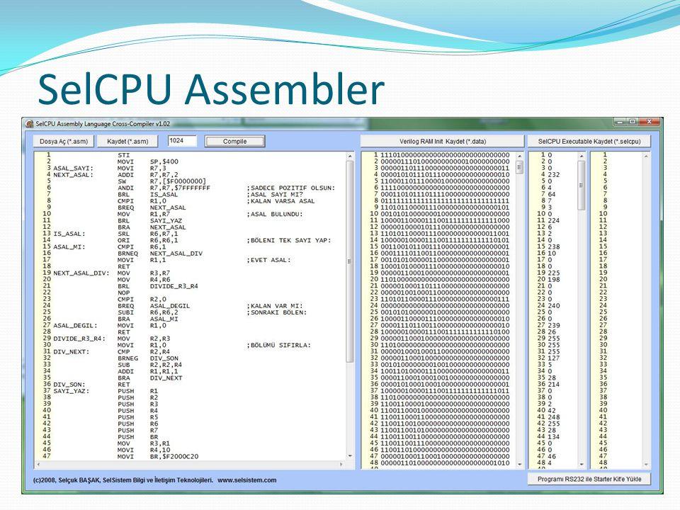 SelCPU Assembler