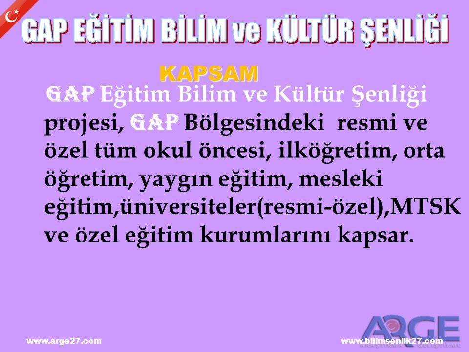 www.arge27.com www.bilimsenlik27.com