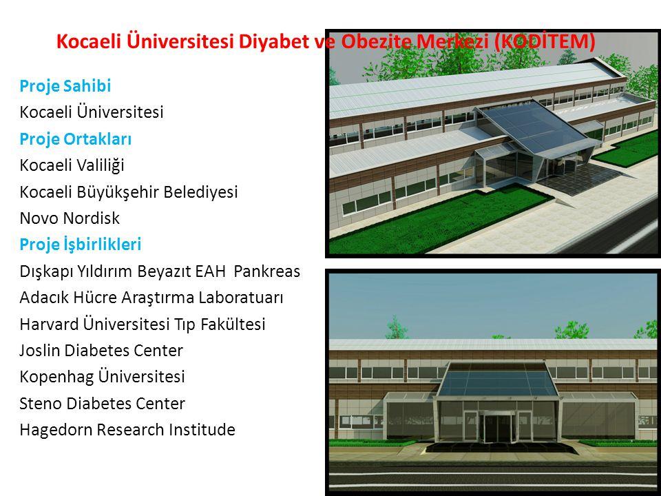 Proje Sahibi Kocaeli Üniversitesi Proje Ortakları Kocaeli Valiliği Kocaeli Büyükşehir Belediyesi Novo Nordisk Proje İşbirlikleri Dışkapı Yıldırım Beya