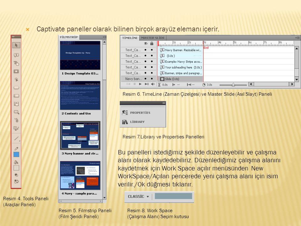  Classic çalışma alanını incelemeden önce Work Space seçim kutusundan Classsic seçili olduğuna emin olun.