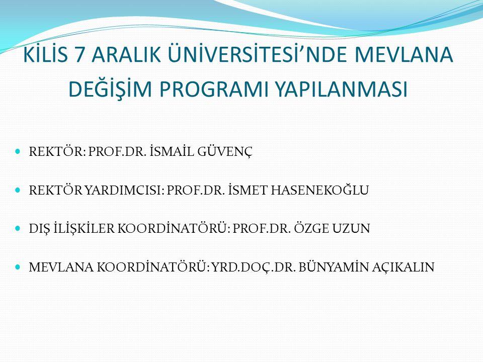 Mevlana Değişim Programı, Yurtiçinde eğitim veren yükseköğretim kurumları ile yurtdışında eğitim veren yükseköğretim kurumları arasında öğrenci ve öğretim elemanı değişimini içermektedir.